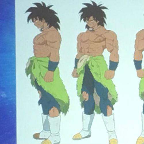 Así se verá Broly en la película de Dragon Ball Super