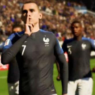 FIFA 18 le atinó al campeón del mundo