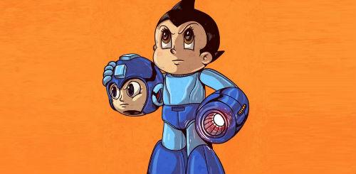 Astroboy vs Mega Man