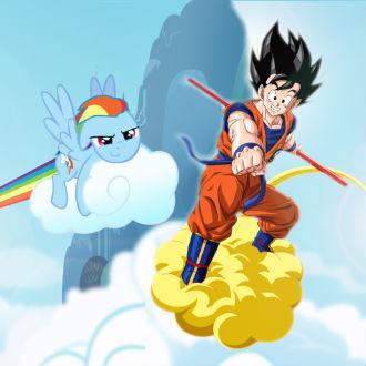 ¿Dragon Ball o My Little Pony?