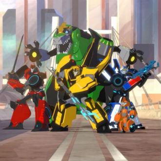 Transformers en caricaturas